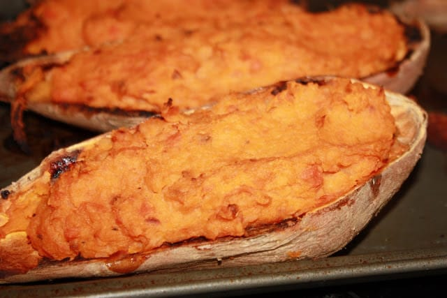 Double Stuffed Carrot Sweet Potatoes Mostly Homemade Mom