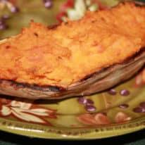 Double Stuffed Carrot Sweet Potatoes