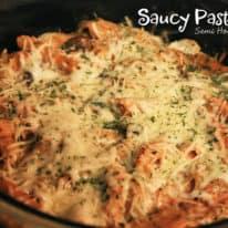 Saucy Pasta Bake