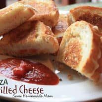 Crazy Cooking Challenge: Pizza Grilled Cheese