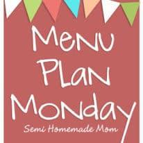 Menu Plan Monday 8/27 ~ Back to School!