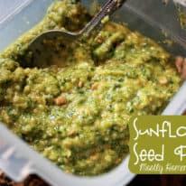Sunflower Seed Pesto