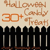 30 + Halloween Candy Treats