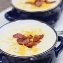 Crockpot Baked Potato Soup (VIDEO)