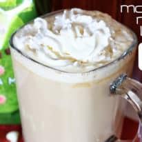 Mocha Mint Latte with Dunkin Donuts Coffee