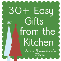 30 + Gifts from the Kitchen