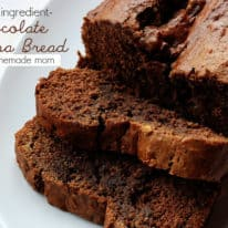 Secret Ingredient Chocolate Banana Bread