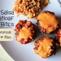 Salsa Meatloaf Bites