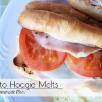 Pesto Hoagie Melts with Boar's Head