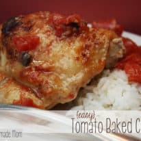 Easy Tomato Baked Chicken