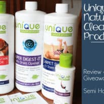 Unique Natural Products – Review & Giveaway!