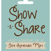 Show & Share Wednesday #26 and Shrinking On A Budget Giveaway!