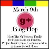 Google + Blog Hop!