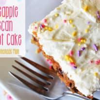 Pineapple Pecan Carrot Cake