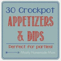30 Crockpot Appetizers and Dips