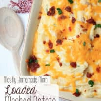 Loaded Mashed Potato Casserole – Country Crock Stars Contest