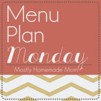 Menu Plan Monday 4/8 – Finally, Spring!