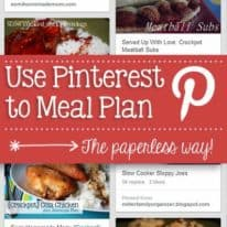 How to Use Pinterest to Meal Plan – the Paperless Way!