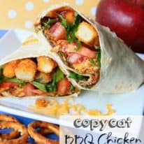 Copycat BBQ Chicken Snack Wrap & LeapPad Ultra Sweepstakes!