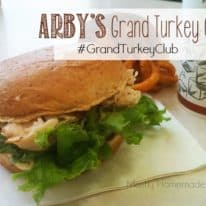 Arby's Grand Turkey Club & DIY Restaurant Busy Book