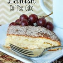 Cheese Danish Coffee Cake
