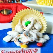 Superhero Sugar Cookie Puppy Chow #SuperBuddies