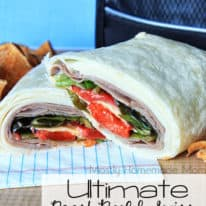 Ultimate Roast Beef & Swiss Wrap with Sargento