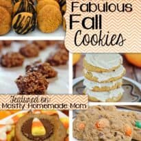 Show & Share Wednesday #57 & Five Fabulous Fall Cookies!
