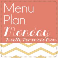 Menu Plan Monday 10/14