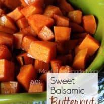 Sweet Balsamic Butternut Squash