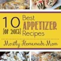10 Best Appetizers of 2013