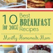 10 Best Breakfast Recipes of 2013