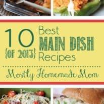10 Best Main Dish Recipes of 2013