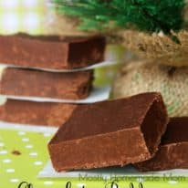 Chocolate Pudding Fudge