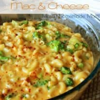 Broccoli Cheddar Mac & Cheese with Smart Balance!