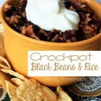 Crockpot Black Beans & Rice