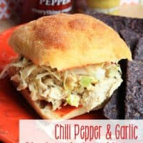 Chili Pepper & Garlic Chicken Salad Sliders