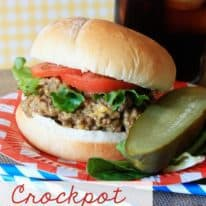 Crockpot Cheeseburgers and a Vlasic Giveaway!