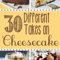 30 Different Takes on Cheesecake!