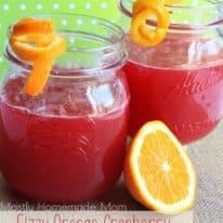 Fizzy Orange Cranberry Bellini