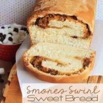 Smores Swirl Sweet Bread