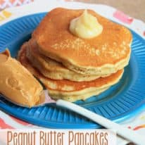 Peanut Butter Pancakes (VIDEO)