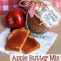 Apple Butter Mix – in a jar!