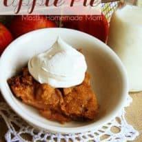 Crockpot Apple Pie