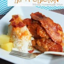 Slow Cooker Hula Chicken over Jasmine Rice