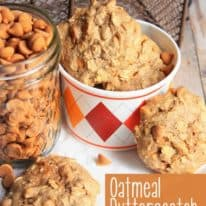 Oatmeal Butterscotch Spice Cookies