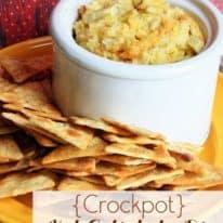 {Crockpot} Hot Artichoke Dip