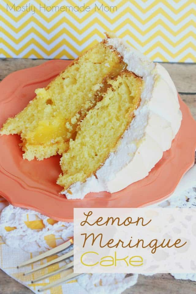 Cake Mix Cake With Lemon Curd Filling