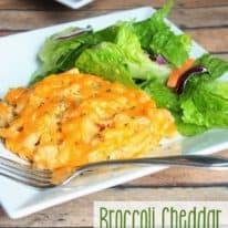 Broccoli Cheddar Tuna Noodle Casserole