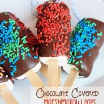 Chocolate Covered Marshmallow Pops with Big Hero 6!